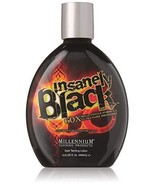 Millennium Tanning Products - Insanely Black Dark Tanning Lotion, 60x Me... - $24.95