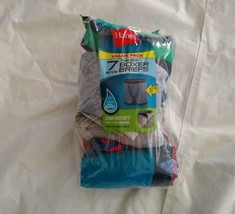 Hanes Boy's 7pk Comfort Flex Waistband Multi-color Tagless Boxer Briefs ... - $12.65