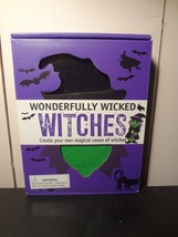 """Halloween """"Wonderfully Wicked Witches"""" Create your own craft set - $7.80"""