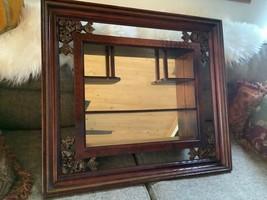Vintage Curio Mirror Shelves Windsor Mid-Century Modern Display wall she... - $125.00