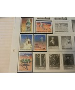 Lot of 5 Central African Republic Space Stamps 1976-78 Operation Viking - $7.43