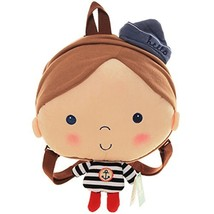 Infant Knapsack Baby Cartoon Backpack Prevent from Getting Lost(Grey Hat) image 2