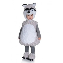 Underwraps Husky Vientre Bebés con Peluche Piel Niños Disfraz Halloween ... - $28.24