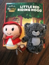 Hallmark Itty Bittys LITTLE RED RIDING HOOD Plush ONLY Storybook Set NO ... - $11.50