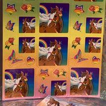 Lot Of 3 Lisa Frank Full Sticker Sheets Rainbow Chaser Lollipop Prism HTF image 4