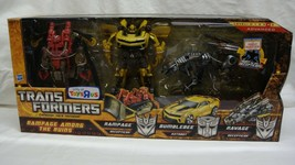 TRANSFORMERS HUNT FOR THE DECEPTICONS HFTD RAMPAGE AMONG THE RUINS TRU N... - $245.00