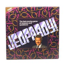 Vintage Jeopardy Board game 2 to 6 Players Alex Trebek TV Show 1992 - Ex... - $15.11