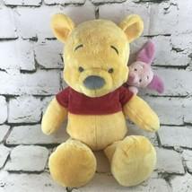 Disney Parks Winnie The Pooh And Piglet Plush Super Soft Stuffed Animal ... - $19.79