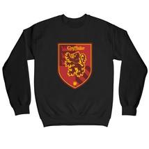 Harry Potter Gryffindor Red Crest Children's Unisex Black Sweatshirt - $25.35