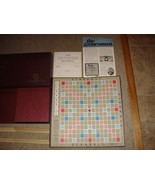 Vintage Scrabble Crossword Game Selchow & Righter 1953 Board Game - $10.99