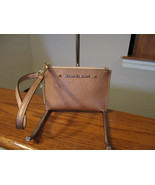 Authentic Michael Kors Karla Small Wristlet Ballet Leather New With Tag - $34.64