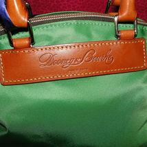 Dooney & Bourke Nylon Green Satchel Handbag NWT image 3