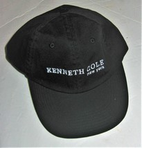 Kenneth Cole Baseball Cap Black with White Graphics - $19.79