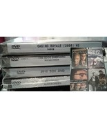 Lot of 4 unopened DVDs *sealed* Casino Royale, 2012, Fracture, Good Shep... - $14.84