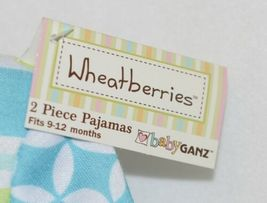 Baby Ganz Boys Wheatberries 2 Piece Shirt Pants Pajamas Size 9 to 12 months image 5