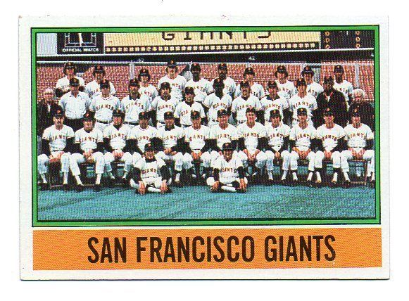 1976 Topps San Francisco Giants Team Set Lot with Traded