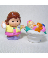 Fisher Price Little People BABY ASHLEY & MOTHER from Melody the Mini Van - $8.50