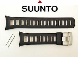 Suunto  watch band strap Quest original Rubber  Black 2 pins - $37.95