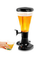3L Draft Beer Tower Dispenser with LED Lights - $129.07 CAD