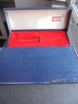 Montblanc Mont Blanc Scatola Per Penna Anni '50 Blu Originale Pen Box - $37.43