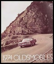 1974 Oldsmobile Dlx Color Brochure Cutlass 88 98 - $7.12