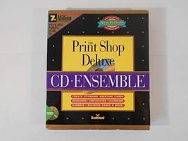 The Print Shop Deluxe cd ensemble - $121.50