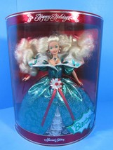 NEW 1995 Vintage Happy Holidays Barbie Doll Collector Edition Recommende... - $8.56