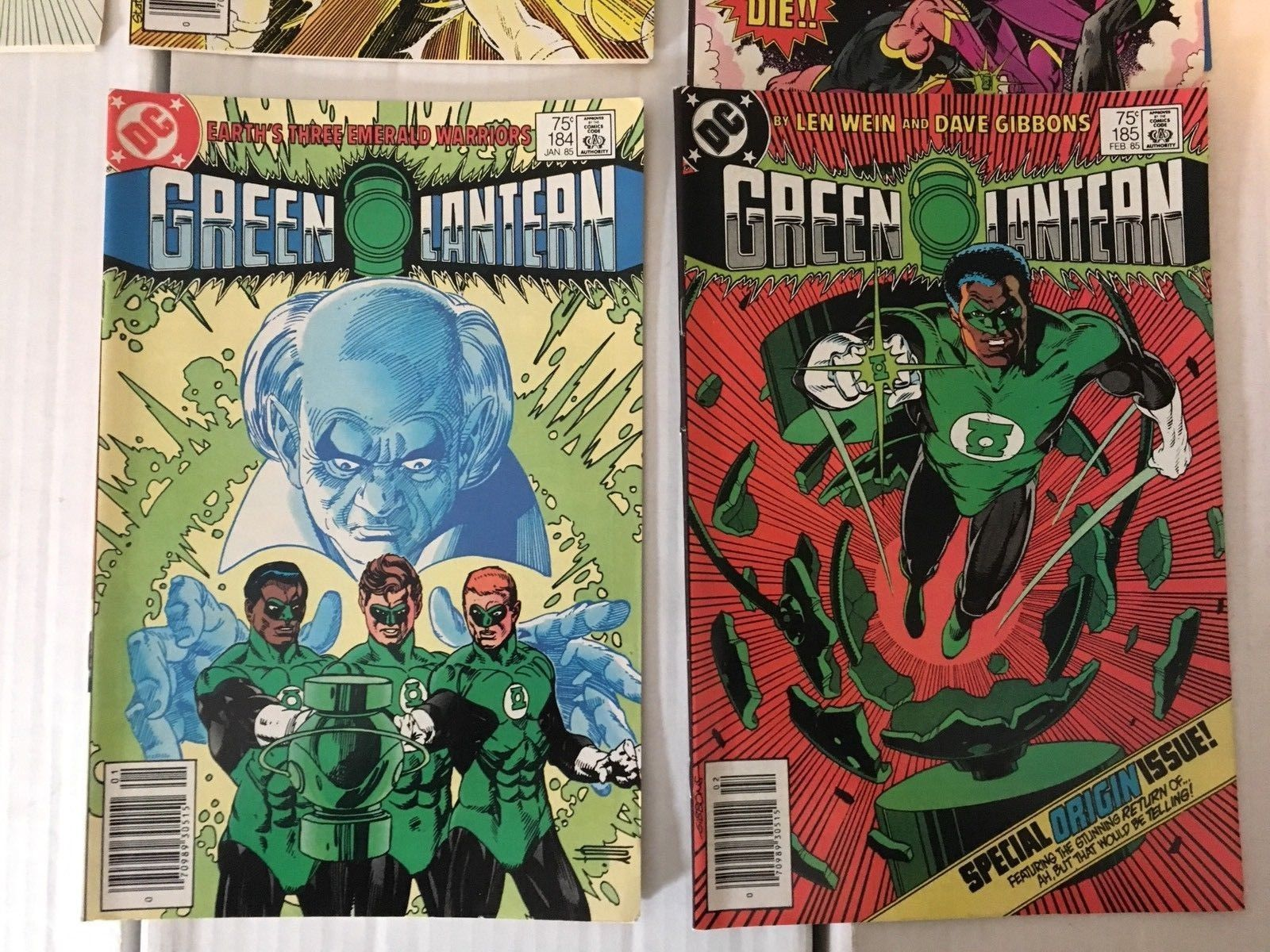 GREEN LANTERN 184 - 195 DC Comic Book Lot / Run Of 12 VF - NM Condition 1985
