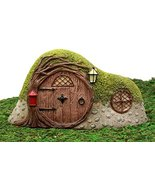 Ebros Gift Enchanted Fairy Garden Miniature Withered Tree Cottage House ... - £17.38 GBP