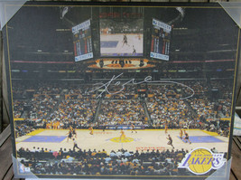 Kobe Bryant Signed 16x20 Canvas Print Photo - Global Authentics - £286.10 GBP