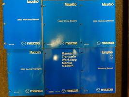 2006 Mazda5 Mazda 5 Service Repair Shop Manual 6 Volume Set Factory Feo Books - $286.05