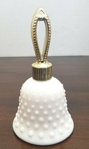 Sweet Honesty Avon Cologne Hobnail Bell Collectible Bottle 2/3 Full Vintage - $9.56