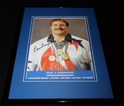 Bruce Baumgartner Signed Framed 11x14 Photo Display Olympian - $48.26