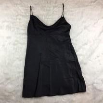 Victoria's Secret Women's Black Slip Sexy Draped Bust Size M Club Party ... - $16.82
