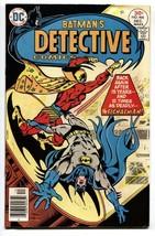 DETECTIVE COMICS #466--First appearance of SIGNALMAN - Batman - $37.83