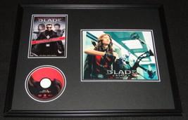 Jessica Biel Signed Framed 16x20 Blade DVD & Photo Display JSA - $186.99