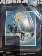"""Vintage 1994 Dimensions Needlepoint Kit #2420 Song Of The Wild 14"""" x16"""" ... - $14.85"""