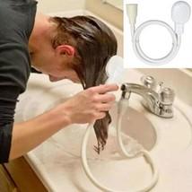 Shower Faucet Head Bathroom Kitchen Water Spray Drains Stream Washing Nozzle - $7.99
