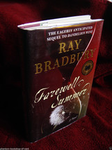 Ray Bradbury FAREWELL SUMMER first, as new, hardback, SIGNED-DATED HALLO... - $122.50