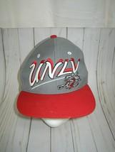 Unlv Running Rebels Baseball Hat Cap Zephyr Adult One Sz Ncaa Las Vegas Snapback - $14.85