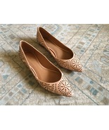 Vintage COACH #Q6800 RORY STUD Pink Leather Flats - Women's Size 9B - $50.00