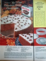 My-T-Fine Special Cheesecake Print Magazine Advertisement 1964 - $3.99