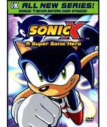 DVD - Sonic X - A Super Sonic Hero - $10.00