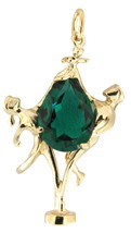 Dancing people Women's 14kt Yellow Gold Pendant - $399.00