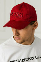 Hugo Boss Men's Casual Cotton Twill Cap Hat With 3D Embroidered Logo image 13