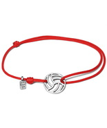 Volleyball bracelet, volleyball jewelry, volleyball charm, volleyball gift - $29.00