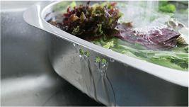Silverstar Stainless Steel Dishpan Washing-up Bowl Bucket Basket Tub image 5