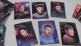 Complete 90 Card 1993 SkyBox Master Series Star Trek Collector's Trading... - $8.86