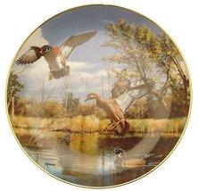 Brown & Bigelow Danbury Mint Settling in On The Wing by David Maass Plate HJ211 - $31.84