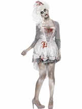 Zombie Georgian Costume, UK 12-14, Halloween Zombie Alley Fancy Dress - $39.37